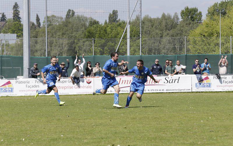 La victoire de l'espoir pour le FC Ecublens