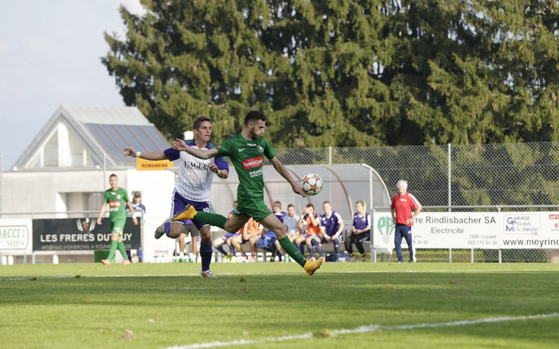 Yverdon Sport frappe fort et se rapproche