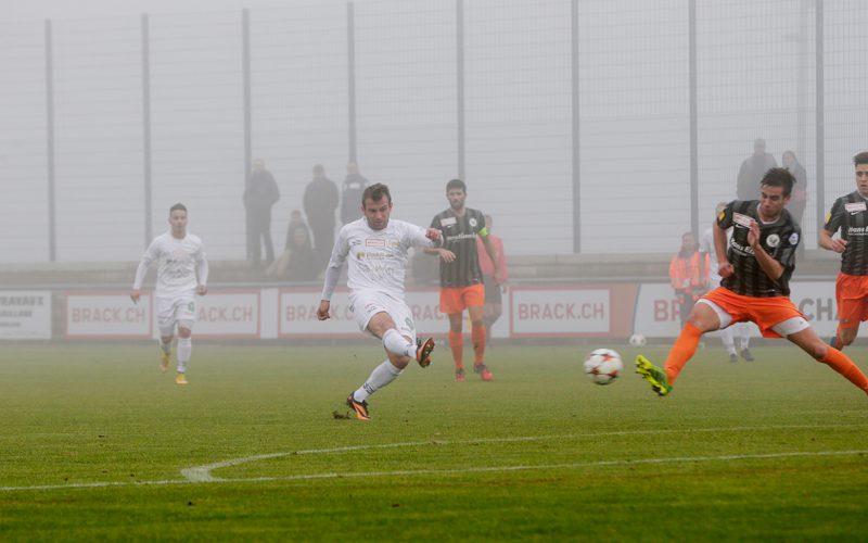 Le Mont n'a pas pu aller au bout, vaincu par le brouillard
