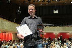 Le dévouement de Nicolas Hofmann récompensé