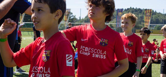 Le Barça s'installe à Montreux