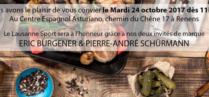Repas organisé par footvaud.ch > 24.10.2017