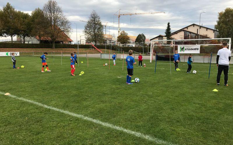 La passion du foot au service des enfants