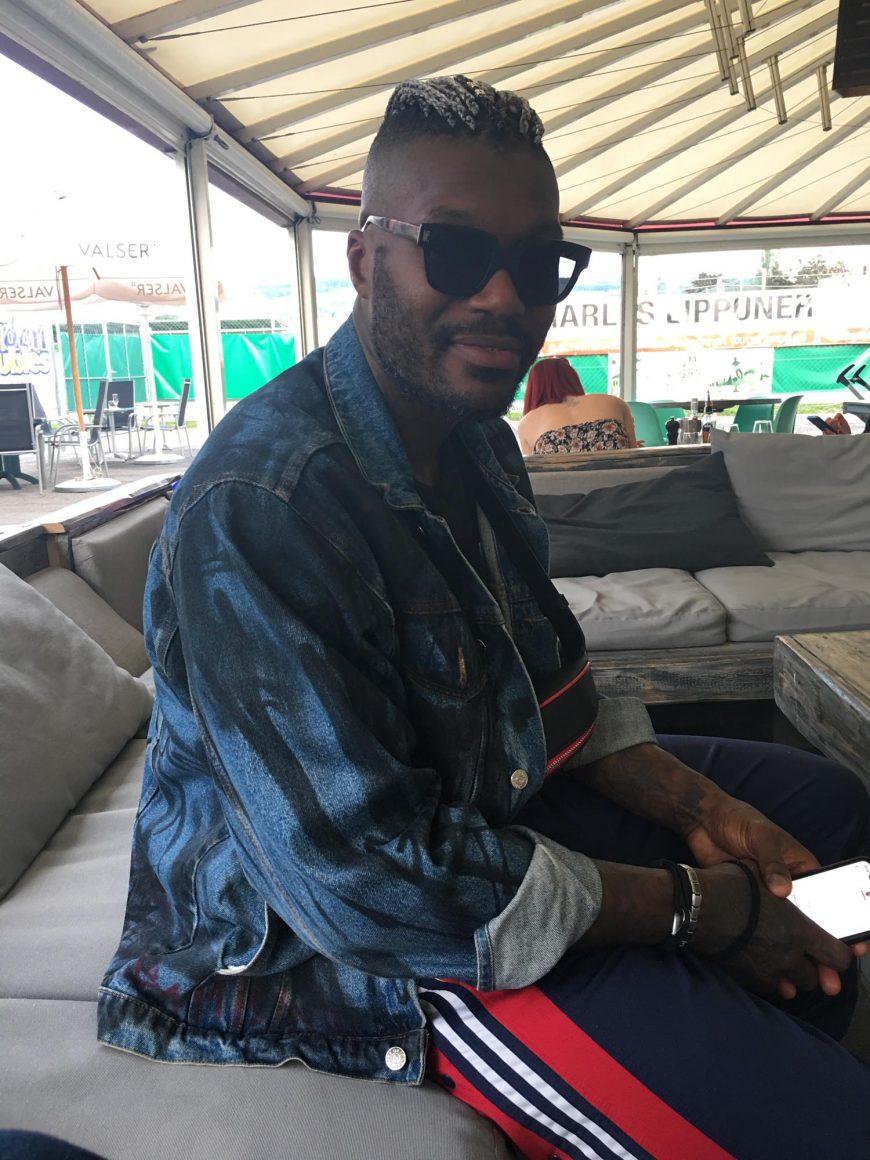 Djibril Cissé, futur ex-joueur, d'Yverdon-Sport