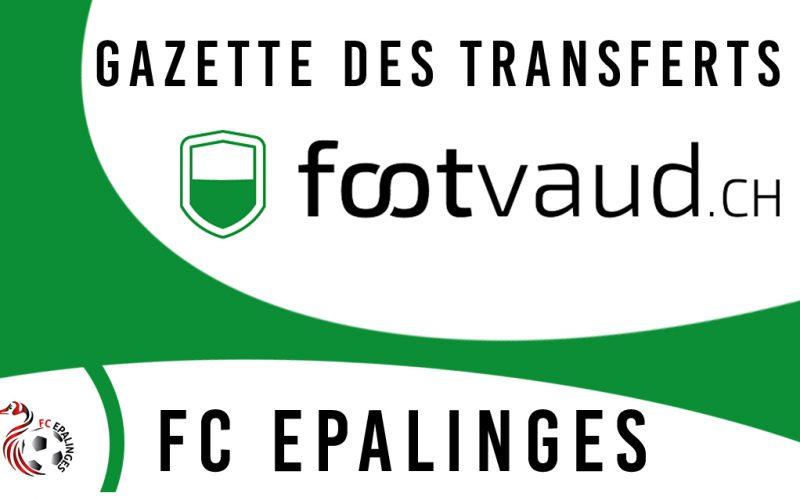 «Gazette des transferts»: FC Epalinges I