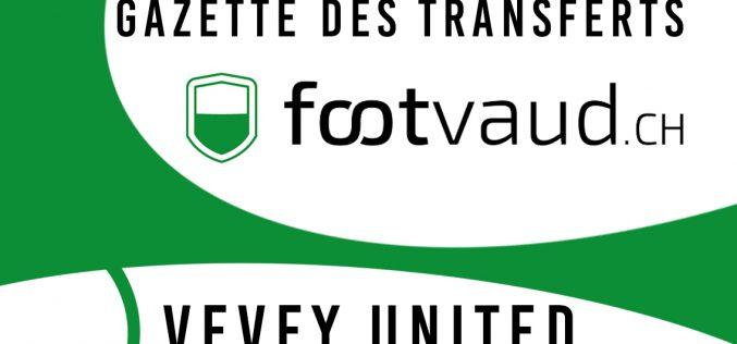 «Gazette des transferts»: FC Vevey United