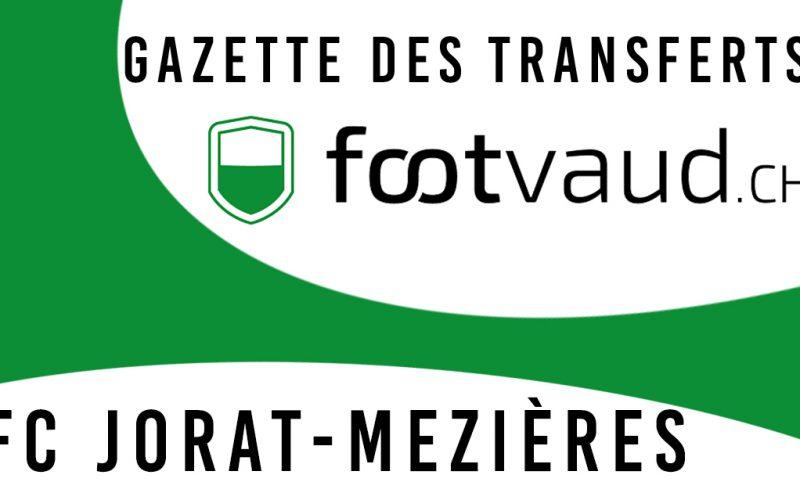 «Gazette des transferts»: FC Jorat-Mézières