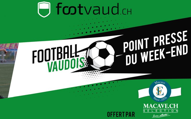 Le point presse du week-end