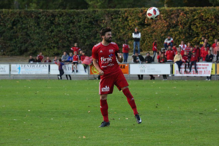 Le capitaine du Stade-Lausanne-Ouchy Fabien Geiser