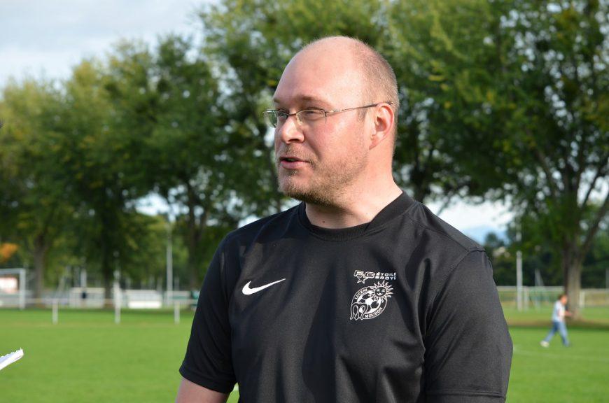Julien Flühmann entraîneur d'Etoile Broye