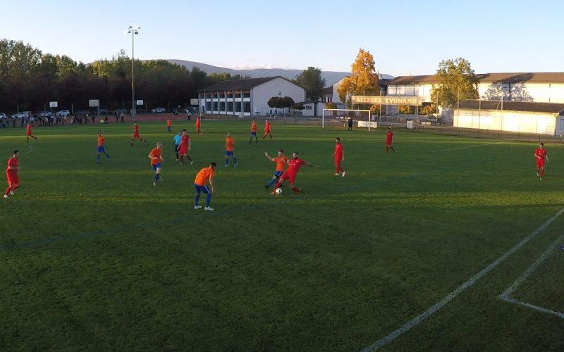 Yvonand est la troisième meilleure défense de Suisse!