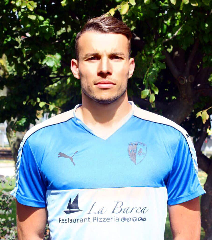 Andrea Guarino, gardien du FC Renens