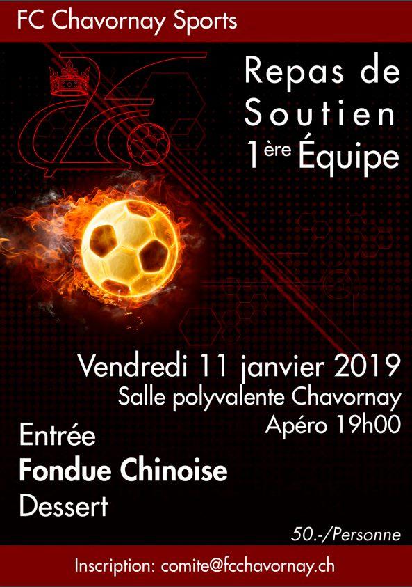Repas de soutien du FC Chavornay