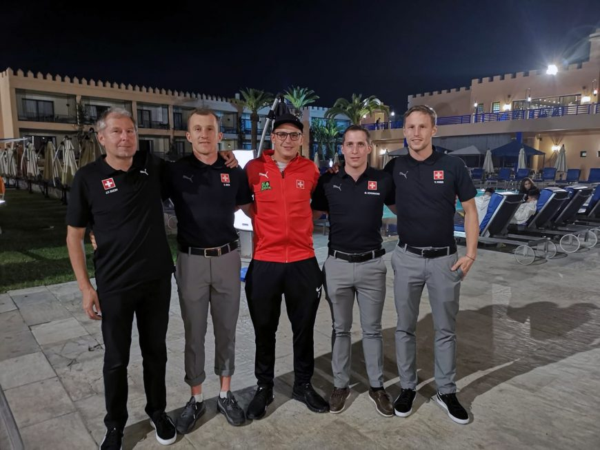 Les membres du Lausanne Footgolf à la Coupe du monde