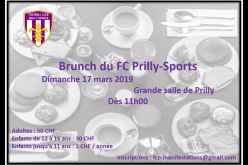 Brunch du Prilly Sports le 17 mars