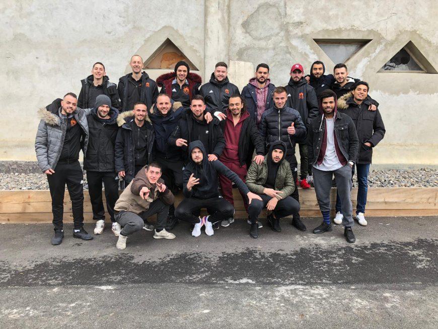Le RC Lausanne est une équipe soudée qui n'a qu'une idée en tête: la promotion en 3e ligue!