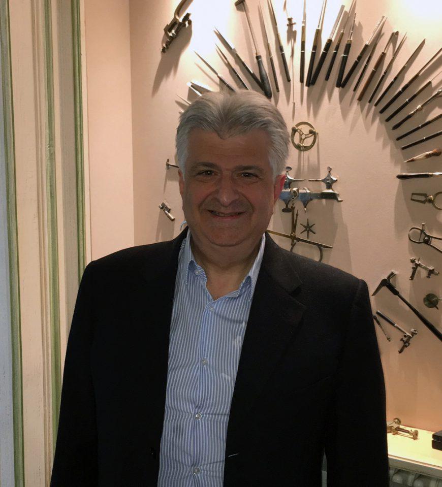 Vartan Sirmakes, président du Stade Nyonnais
