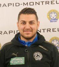 Jeune entraîneur de Rapid-Montreux, Emmanuel Zaccaria est ambitieux