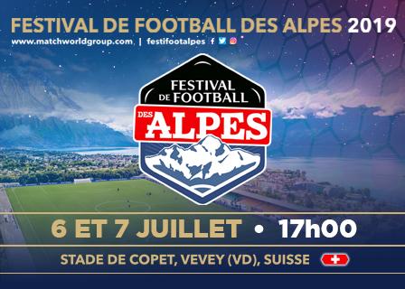 Samedi et dimanche 6 & 7 juillet | Festival de Football des Alpes 2019