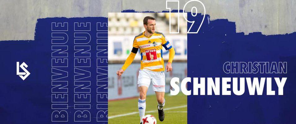 Christian Schneuwly débarque à la Pontaise!