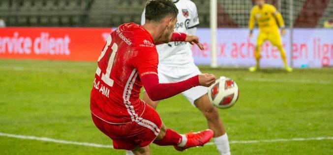 Lahiouel sanctionne Xamax et offre la victoire à Stade Lausanne